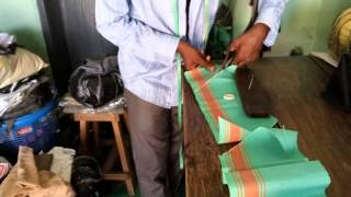 How to cut African native cap