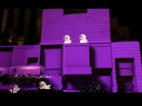 Dubai Festival of Lights 2014 The Anookis