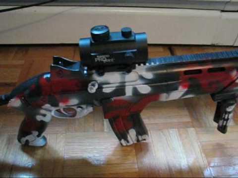 JLS Beretta RX4 Storm Airsoft Gun Review