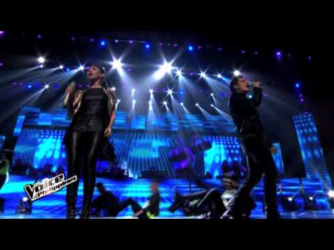 sing  feel This Moment Medley By Team Coaches And Top 4 Artists video