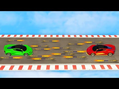 1000 VS 1000 ROCKETS! (GTA 5 Funny Moments)