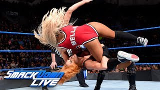 Becky Lynch vs. Carmella: SmackDown LIVE, March 6, 2018