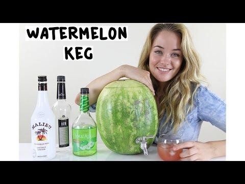 How to make a Watermelon Keg - Tipsy Bartender