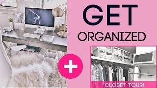 7 Tips for Organizing Your Closet + CLOSET TOUR!!!