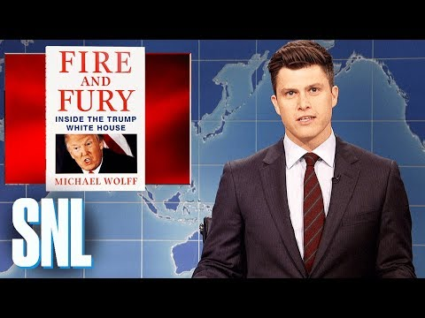 Weekend Update on Fire and Fury - SNL
