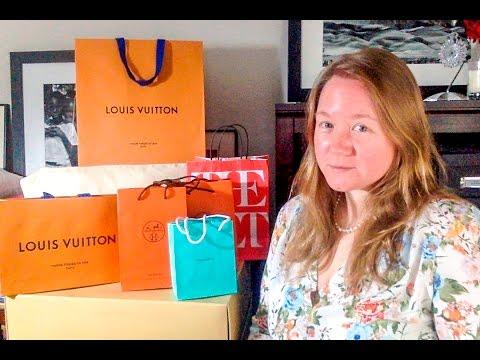 NYC Luxury Shopping HAUL || Louis Vuitton || Hermes || Tiffany & Co || Autumn Beckman