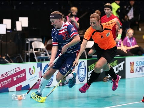 Women's WFC 2015 - 13th place - USA v NED