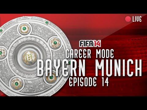 BUNDESLIGA FINALE!! FIFA 14 Bayern Munich Career Mode #14 - LIVE!