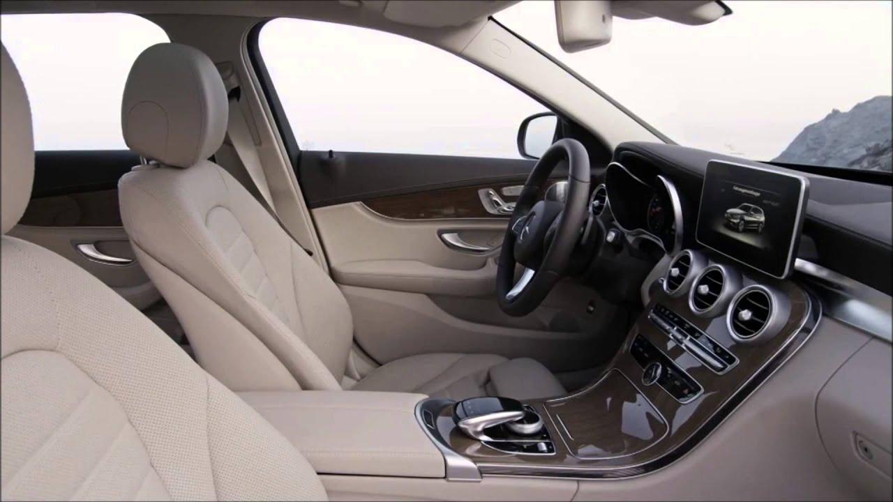 Mercedes benz 2015 c class estate interior trailer youtube for Mercedes benz c class 2015 interior