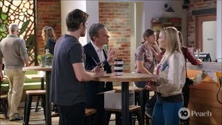 Ned, Xanthe, Paul scene ep 7990