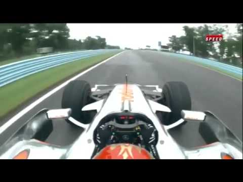 Tony Stewart Drives Lewis Hamiltons F1 car (FULL)