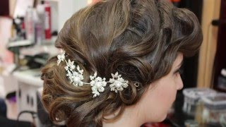 Wedding prom hairstyle like 60s