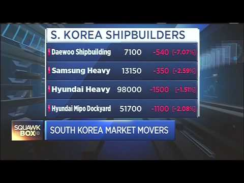 150727 CNBC ASIA SHIPBUILDERS 조선주 2 JUNE YOON CNBC