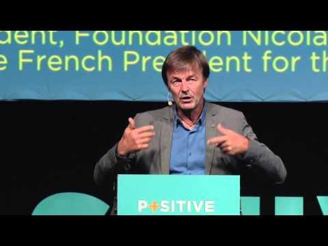 Nicolas Hulot - Positive Economy Forum Le Havre 2014