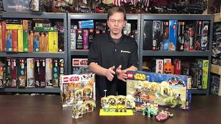 Lego Review: 75205 Mos Eisley Cantina - All 3 Cantinas Compared