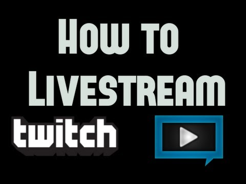 How to Livestream Runescape or Other Games with Twitch/xSplit