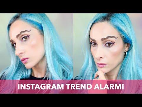 Instagram Trendi ❗️ DALGALI KAŞ Modası Deniyorum | Sebile Ölmez