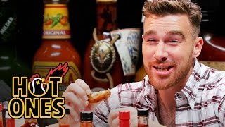 Travis Kelce Gets Woozy Eating Spicy Wings | Hot Ones