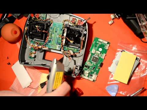 DX6i Backlight install using the $5 Turnigy 9X Kit