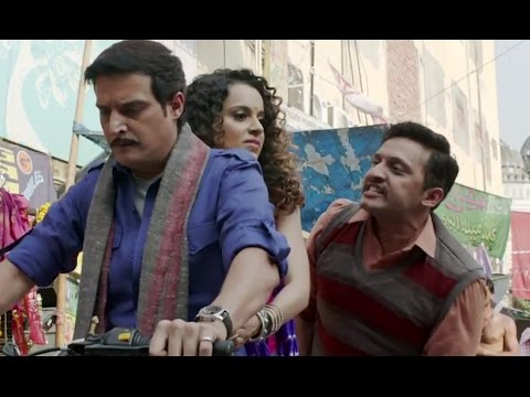 Jimmy Shergill Fights For Kangana | Tanu Weds Manu Returns