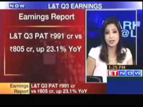 Larsen & Toubro Q3 net up 18% beats estimates