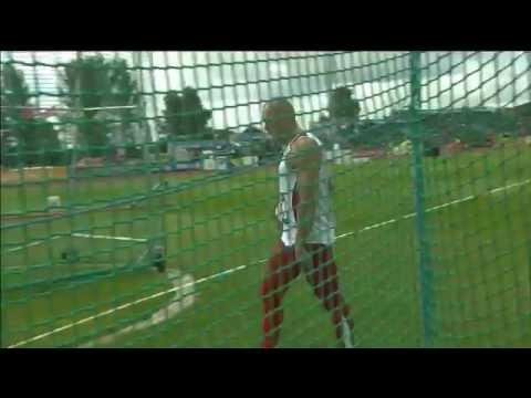 Men's discus F12 | 2014 IPC Athletics European Championships Swansea