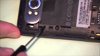 HTC HD7 - Disassembly & Removal Of microSDHC Without Voiding Warranty