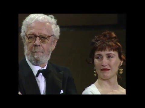 José María Forqué recoge el Goya de Honor 1995