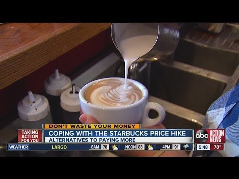 Don't Waste Your Money: How to cope with Starbucks price increase