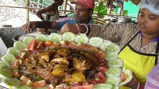 She's The One & Only | Preparing Delicious Mango Chicken | Street Food Loves You