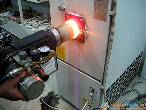 Печь на отработке с автоматикой своими руками 163