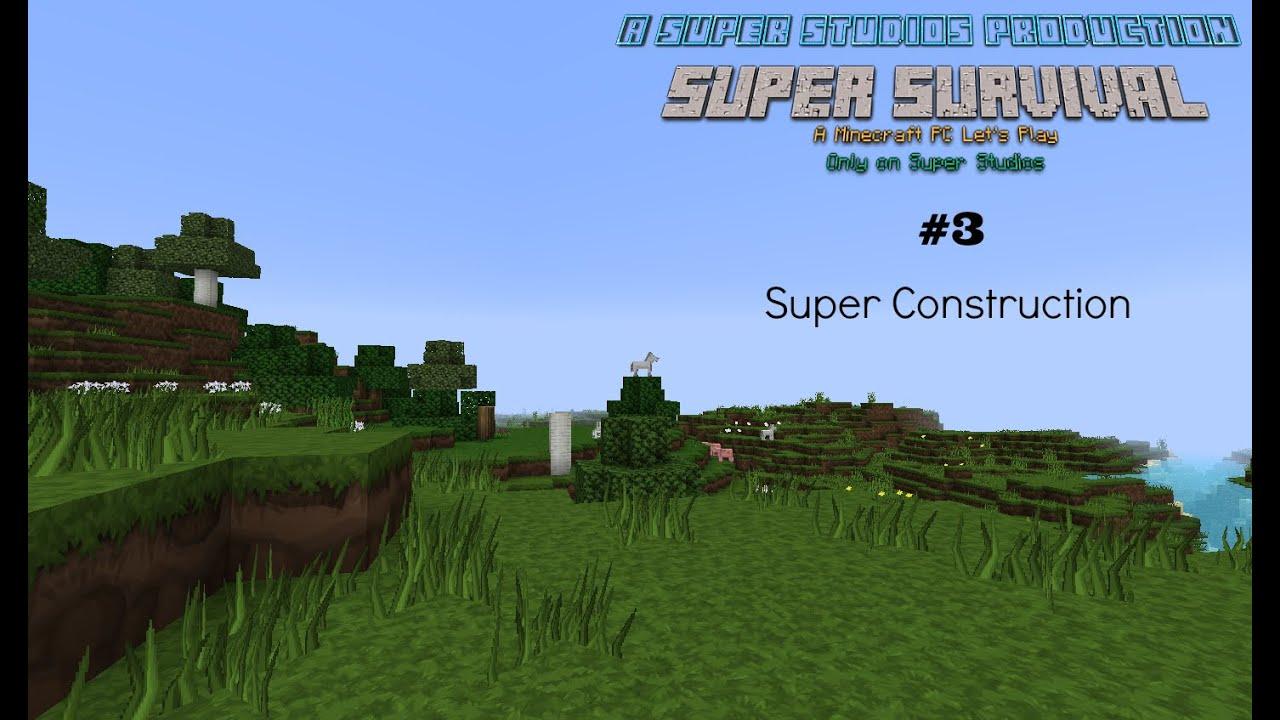 Super Survival Minecraft pc