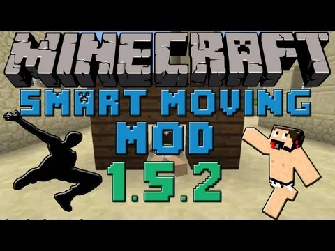 Minecraft mods: tutorial Como Instalar y Descargar Smart Moving mod para Minecraft 1.5.2