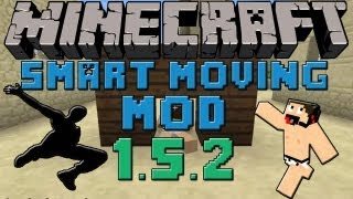 Minecraft mods Capitulo 5: Descargar e instalar Smart Moving mod para Minecraft 1.4.2