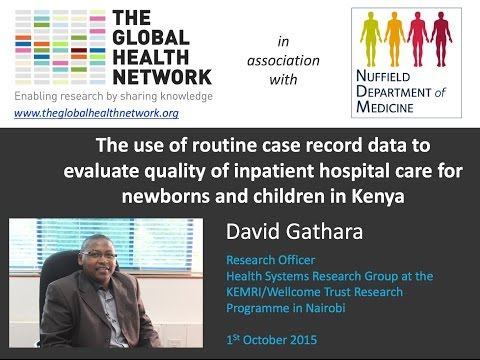 The use of routine case record data to evaluate quality of inpatient hospital care in Kenya