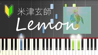 Kenshi Yonezu Lemon Piano Easy