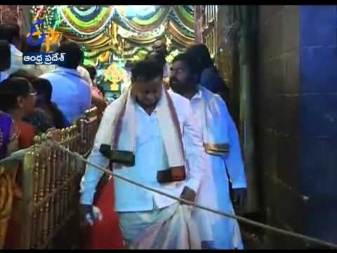 Cine & Political Celebrities Visits Tirumala Temple On Eve Of Mukkoti Ekadasi