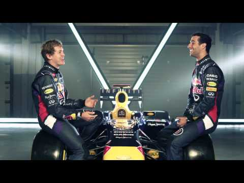 Casio Face Time with Sebastian Vettel and Daniel Ricciardo