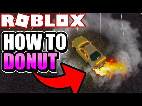 HOW TO DRIFT / DO DONUTS in VEHICLE SIMULATOR! (Roblox Vehicle Simulator)