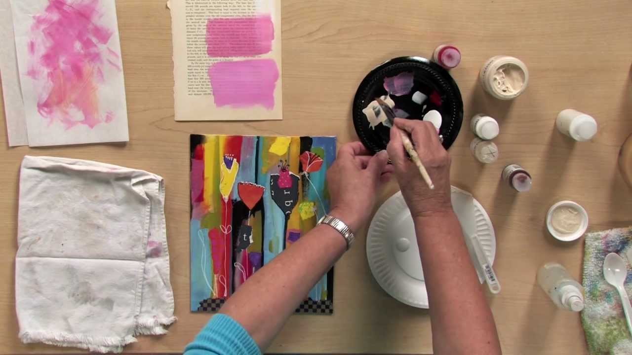 Art Classes Acrylic Painting
