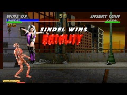 Mortal Kombat 3 Sindel Gameplay Playthrough