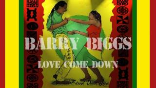 Watch Barry Biggs Love Come Down video