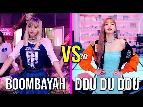 BLACKPINK BOOMBAYAH VS BLACKPINK DDU DU DDU DU (RAP,VOCAL,DANCE ,CLOTHES AND MORE)