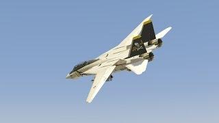 Grand Theft Auto 5 - F-14D Super Tomcat Jet Mod - GTA 5