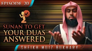 Sunan To Get Your Duas Answered  ┇ #SunnahRevival ┇ by Sheikh Muiz Bukhary ┇ TDR Production ┇