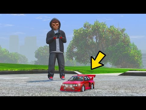 YOU CAN DRIVE TOY CARS IN GTA 5!!