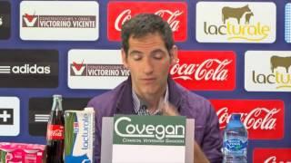 Rueda de prensa de Josetxo Romero