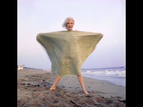 Marilyn Monroe  - The Green Towel Sitting, by George Barris 1962