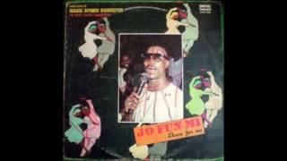 WASIU AYINDE BARRISTER DANCE FOR ME(JO FUNMI)COMPLETE ALBUM 1990