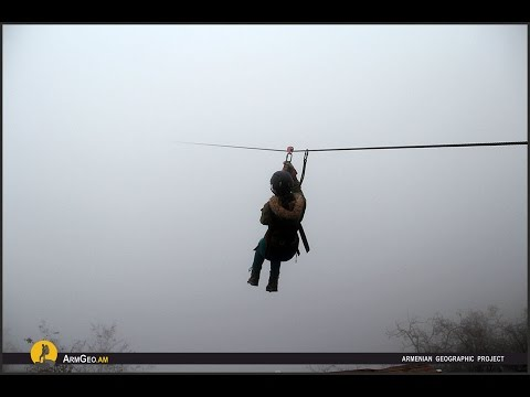 ArmGeo - Zipline in Armenia / Sport Extreme - Armenian Geographic